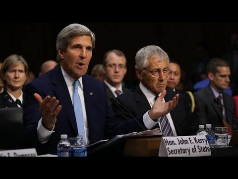 John Kerry on Syria: Secretary of State Testifies Before Senate Panel