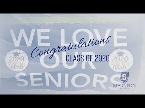 Staunton High School Class of 2020 Graduation