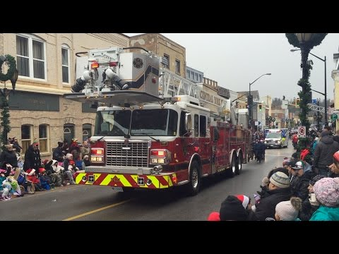 Newmarket Santa Claus Parade 2015