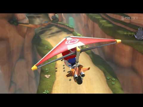 Wii U - Mario Kart 8 - Shy Guy Falls