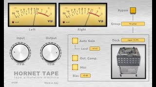 HoRNet Tape ( HoRNet Plugins ) by MachineCityAudio