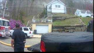 Metal detecting and house fire breaks out .dover nj .
