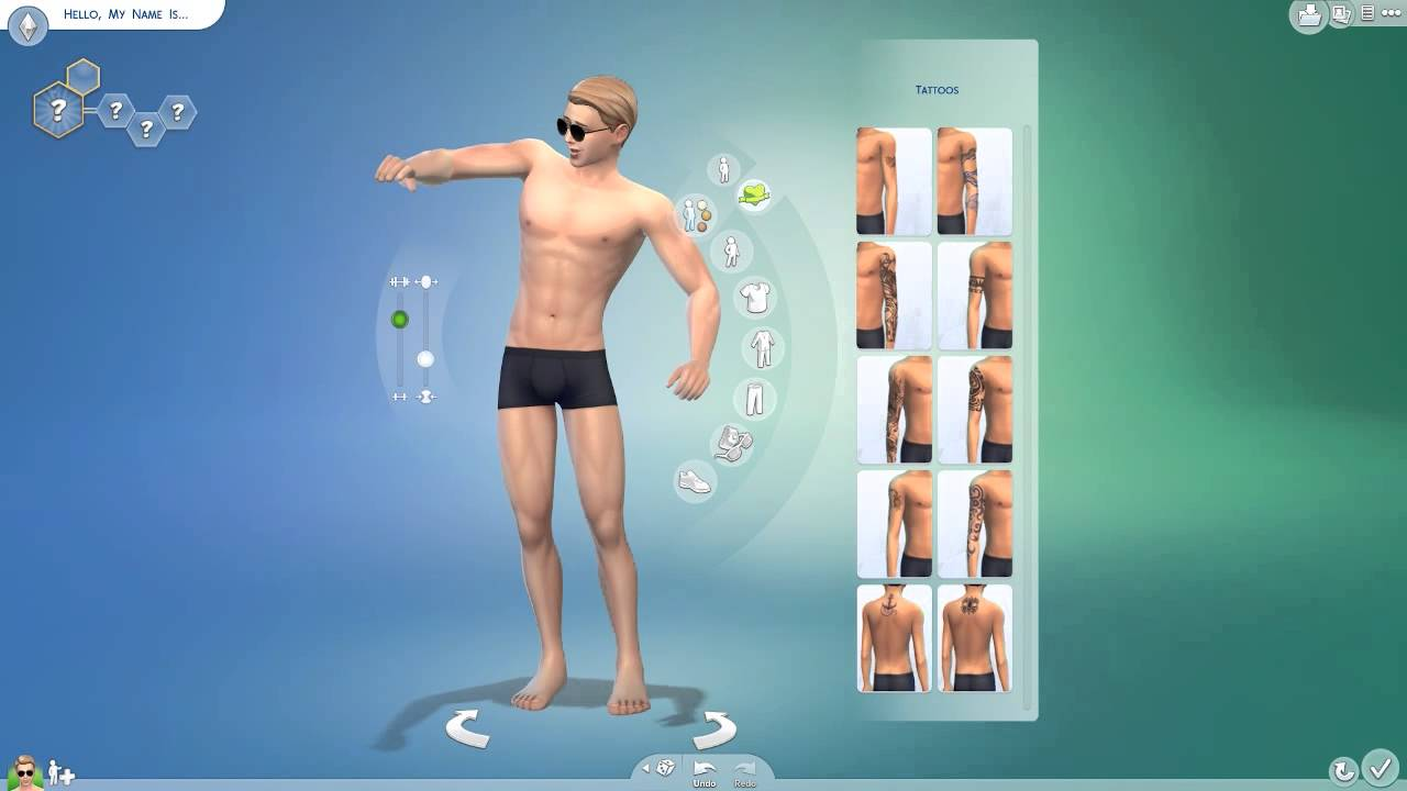 the sims 4 character creator demo youtube