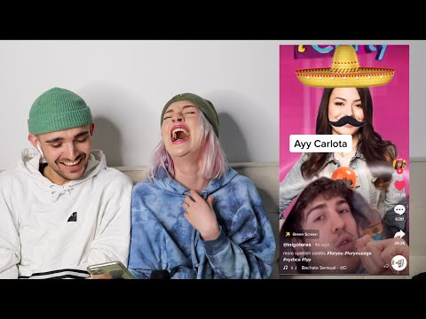 showing my friend who doesn't like tik tok my fave tik toks