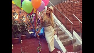видео Оформление воздушными шарами, доставка шаров