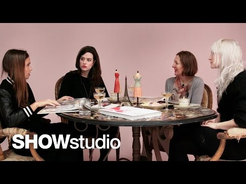 SHOWstudio: Maison Martin Margiela - Haute Couture Spring/Summer 2013 Panel Discussion