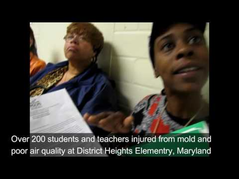 A Mother's Story of Child Inured by Mold at PGCPS District Heights Elementary School