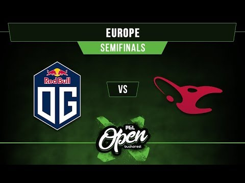 OG vs mouz - PGL Bucharest EU Qualifier G1