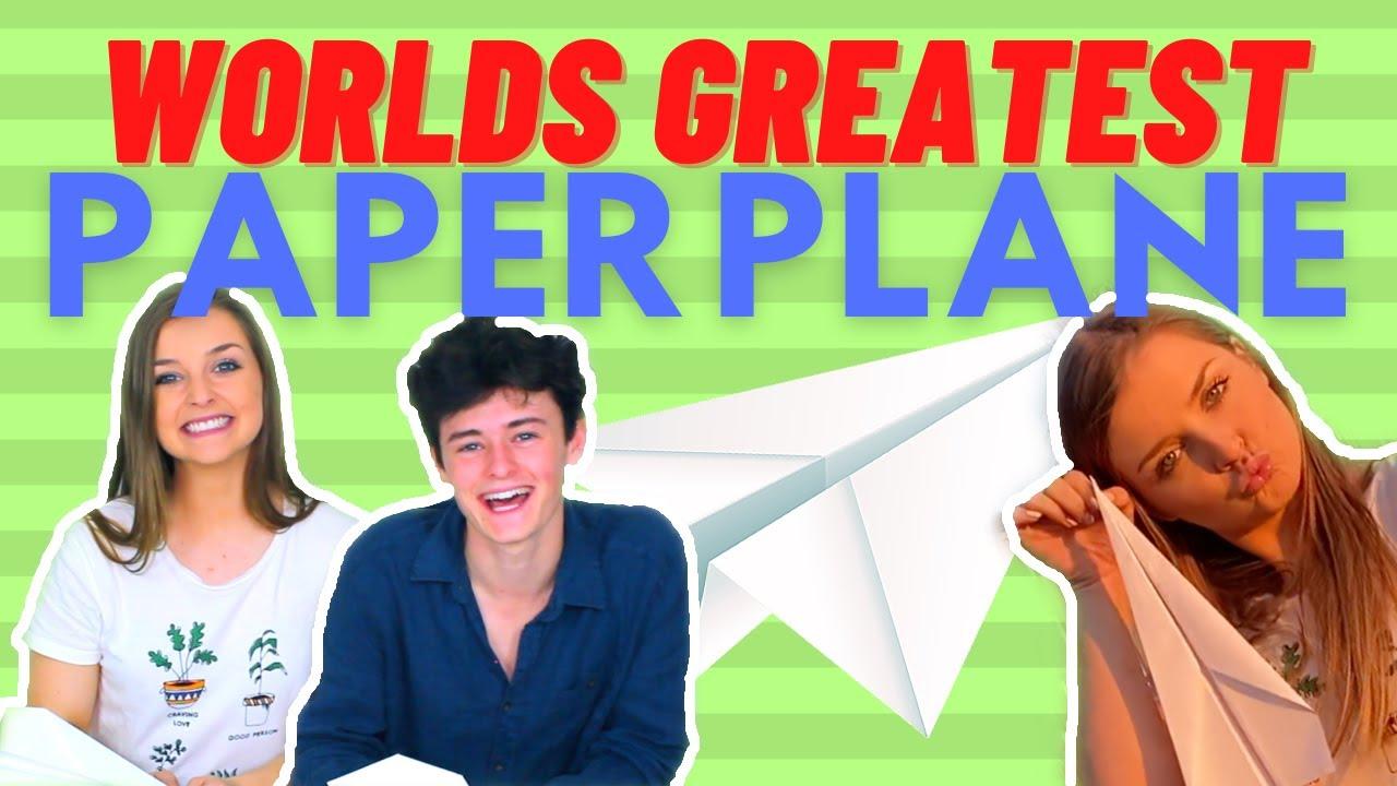 OOSH TV Episode 6 - World's Greatest Paper Aeroplane!