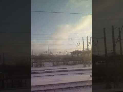 Электропоезд.Санкт-Петербург( Балтийский)-Луга