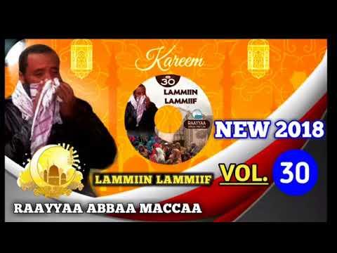 New full 2018 Raayyaa Abbaamaccaa vol 30 Albama haaraa 30ffaa lammiin lammiif thumbnail