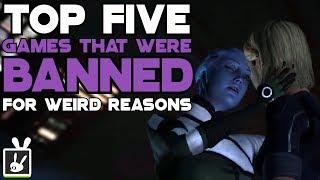 Top Five Games That Were Banned for Weird Reasons - rabbidluigi