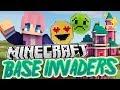Disney Castle Base | Minecraft Base Invaders Challenge