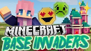 Disney Castle Base | Minecraft Base Invaders Challenge