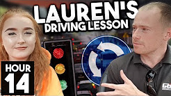 [DRIVING LESSON] Pedestrian crossings, Mini Roundabouts & Meeting Traffic