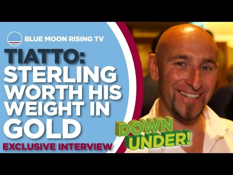 Danny Tiatto Exclusive Interview: Sterling Worth His Weight In Gold! | #CityDownUnder