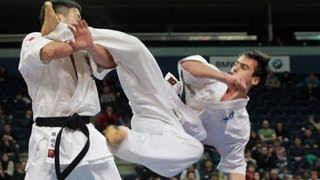 【新極真会】The 5th Karate World Cup MEN LIGHT WEIGHT 2ND ROUND 6 Zinchenko vs. Midori