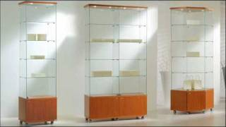 Glass Display Showcases, Cabinets & Counters - Planetdisplay.co.uk