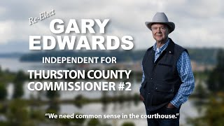 Gary Edwards for Thurston County Commissioner