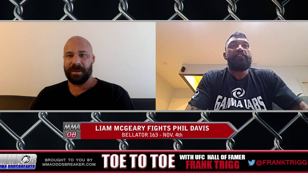 Bellator 163's Liam McGeary: 'I've got some tricks up my sleeve for Phil Davis'