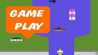 River Raid (Atari 2600) - Gameplay