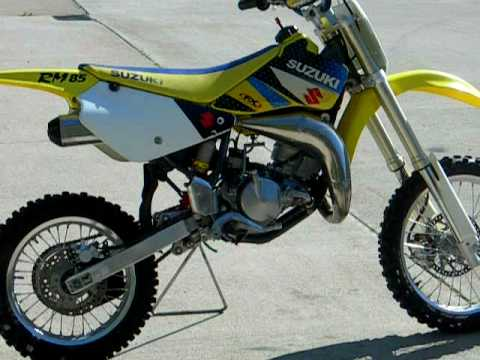 2006 RM85 $1400 FOR SALE WWW.RACERSEDGE411.COM - YouTube
