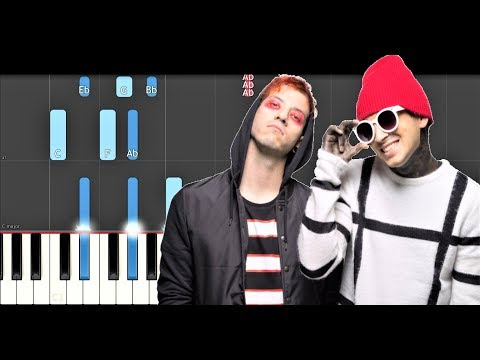 Twenty One Pilots - My Blood (Piano Tutorial)