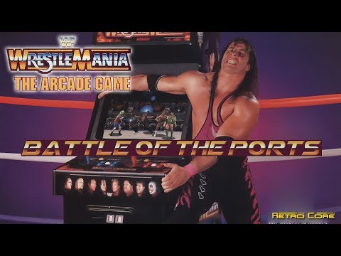Battle of the Ports - WWF WrestleMania: The Arcade Game (WWF アーケードゲーム) Show #259 - 60fps