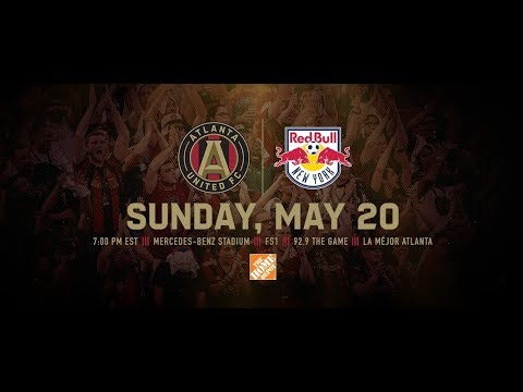 Atlanta United VS New York Red Bulls - Match Promo This Is Atlanta