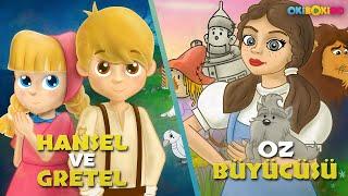 Oz Büyücüsü  Hansel ve Gretel  Çizgi Film Masal