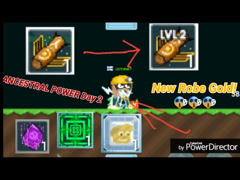 ANCESTRAL POWER Day 2 [Upgrade My Ancestral Level 2!] OMG - Growtopia
