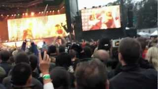 "Metallica ""Master of Puppets"" slow part and the Pit Outside Lands August 10th, 2012"