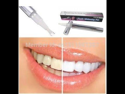 Как пользоваться карандашом для отбеливания зубов