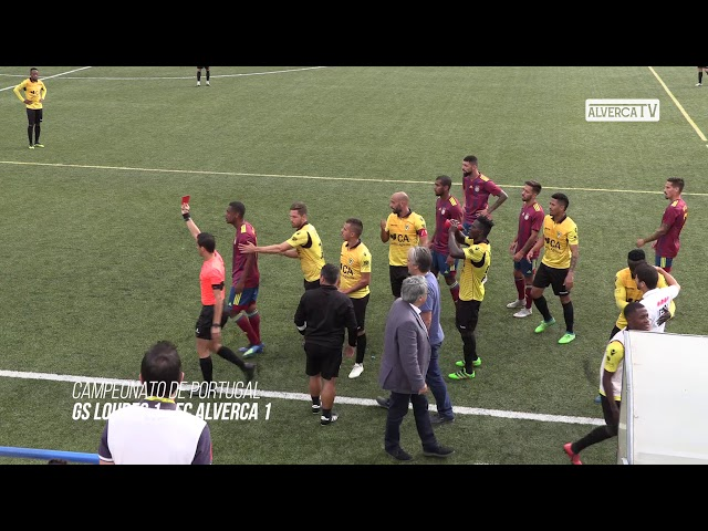 GS Loures 1 vs FC Alverca 1 - Highlights