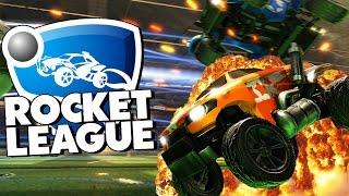 Rocket League - ВОТ ЭТО ГОООЛ! #2