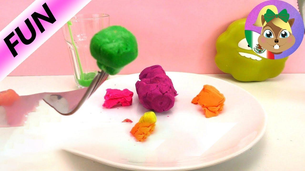 Download ¡¿Comemos PLAY DOH?! (broma) ¡La cena perfecta para juguetes! |Juega conmigo