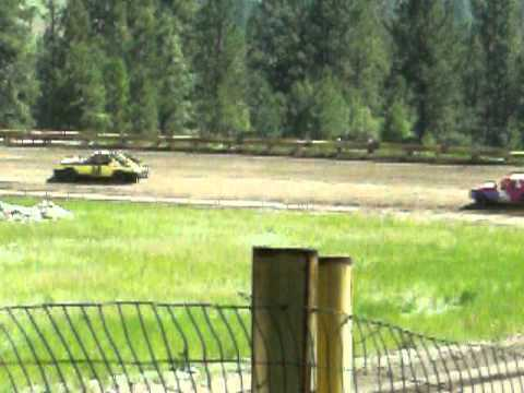 Eagle Track Raceway Fever 4 B Heat Race June 12th 2011