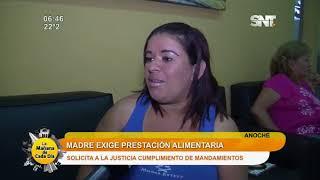 Madre pide a la justicia que se haga cumplir pago de pensión