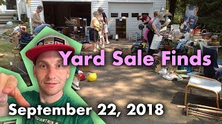 Yard Sale Finds - Interesting LCD games - 9/22/18