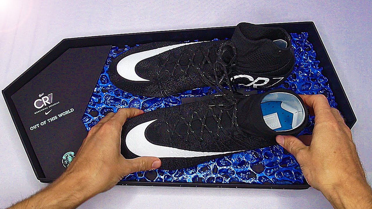 45f5260c Exclusive: Cristiano Ronaldo Nike Superfly 4 Unboxing - YouTube