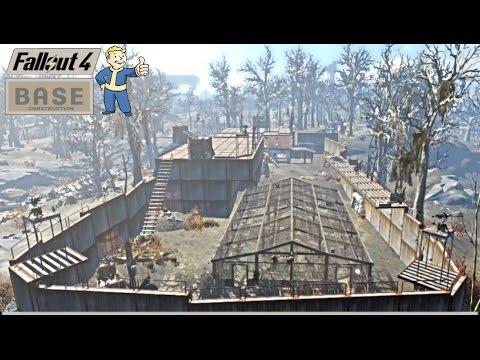 Fallout 4 Pépinière Greentop Construction Base Miliciens