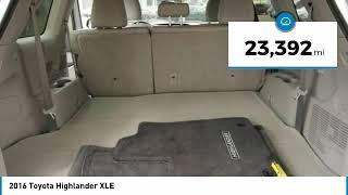 2016 Toyota Highlander XLE Maplewood, St Paul, Minneapolis, Brooklyn Park, MN P17956