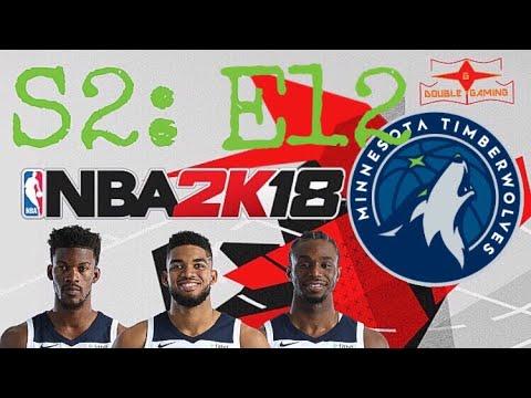 NBA 2K18 MINNESOTA TIMBERWOLVES- BEGINNING OF A NEW SEASON