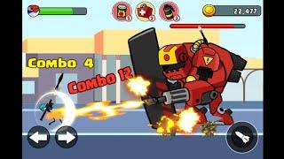 Stick soldier revenge -stickman warriors Android Gameplay