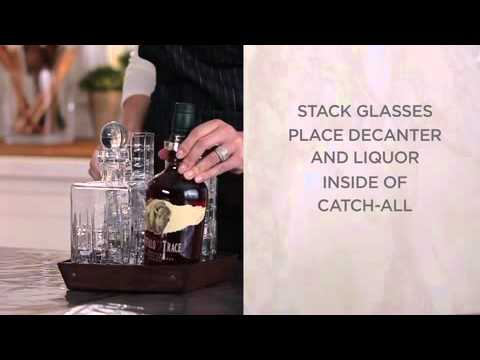 How To Make A Themed Wedding Gift Idea With Barware Gifts | Pottery Barn
