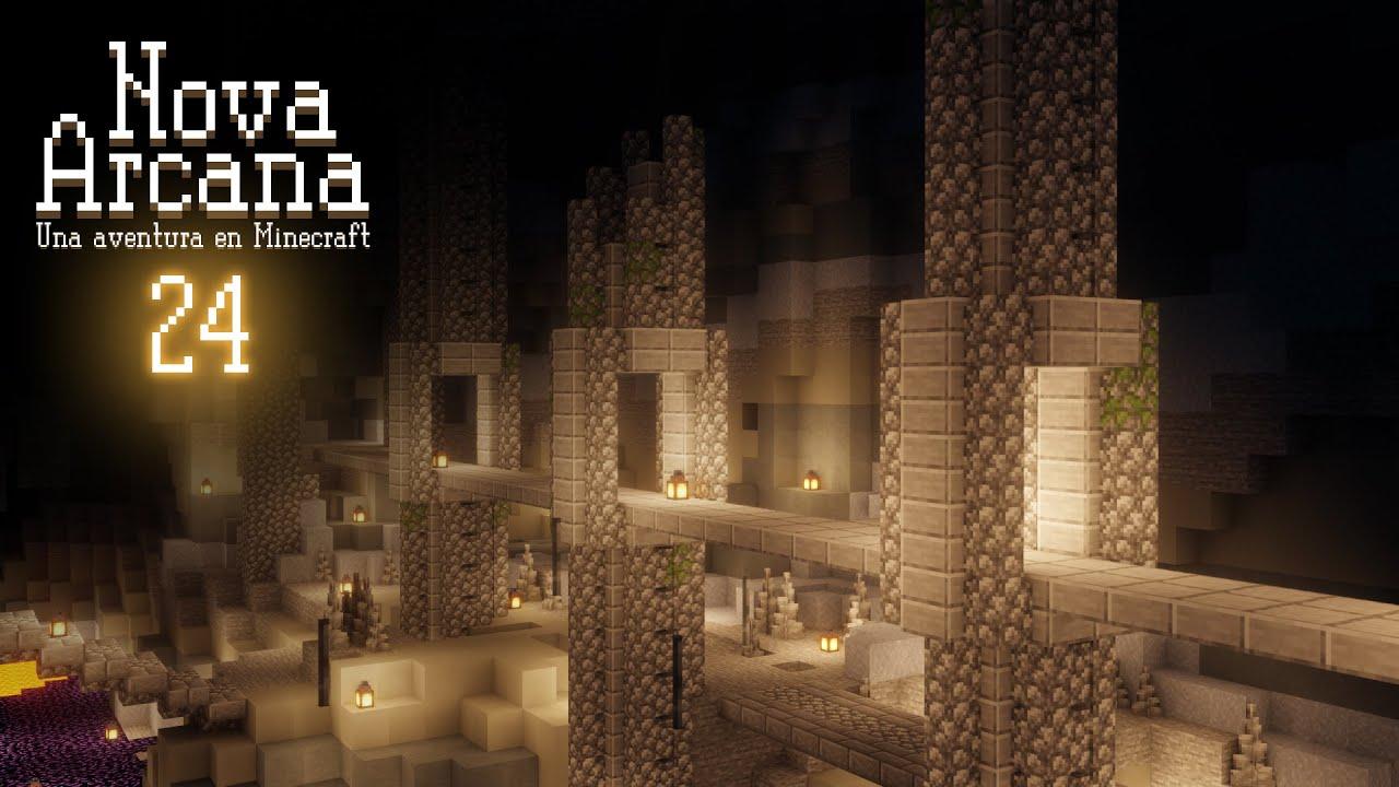 Minecraft: Nova Arcana - Cap. 24 - Ciudad inundada completada