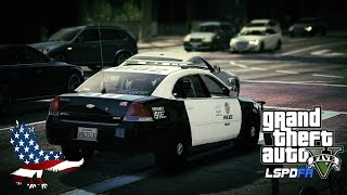 GTA 5 - LSPDFR LIVE - Patrolling the city in a 2013 Impala (Play GTA V as a cop mod for PC)