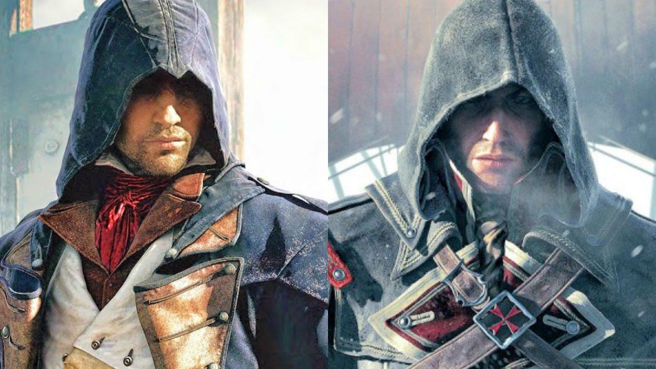 Arno Dorian vs Shay Cormac Music Video (Assassin's Creed ...