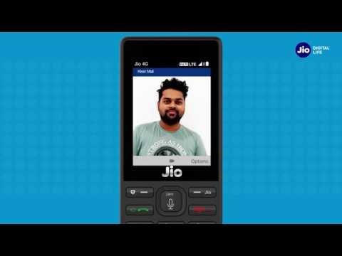 Jiocare How To Make Video Calls On Jiophone Marathi Reliance Jio