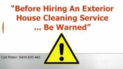 Find The Right Exterior House Cleaning Service In Sydney